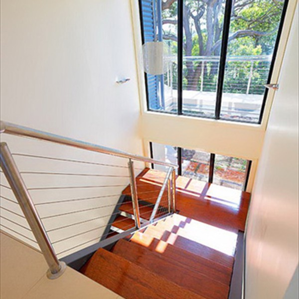 Internal stairs and balustrades