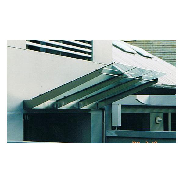 Stainless steel awning