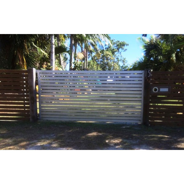 Solar Powered Automatic Gate